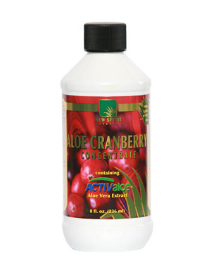 Aloe Cranberry Concentrate