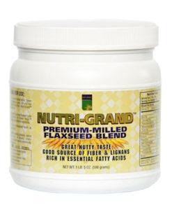 Nutri Grand™ Premium Milled Flax Seed (1lb 5 oz.)